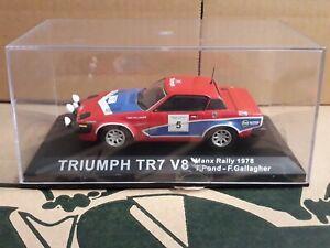 Triumph TR7 V8 Tony Pond / Fred Gallagher 1:43 Rally Car Model 1978 Manx Rally