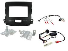 Connects2 CTKMT03 Mitsubishi Outlander 07 - 13 Complete Double Din Fitting Kit