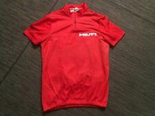 HILTI Mens Large 1/4 Zip Pullover Jersey Short Sleeve