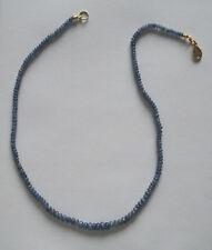 ZAFIRO CADENA, azul zafiro COLLAR, ZAFIRO lentes en größenverlauf