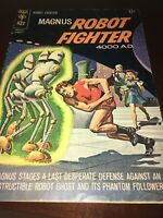 Magnus Robot Fighter 4000 A.D. Gold Key 10045-502 February 1965