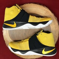 Nike Kyrie 2 Tour Australia Basketball Yellow/Black 819583 701 Sz 11.5 Lebron
