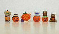 Hallmark Merry Miniatures - Halloween Pumpkin Collection (lot of 6)