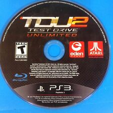 Test Drive Unlimited 2 (Sony PlayStation 3, 2011) Disc Only # 14520