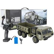 FY004 2.4G RC Military Truck Army 1:16 Tracked Wheels Crawler Off-Road Car Toy