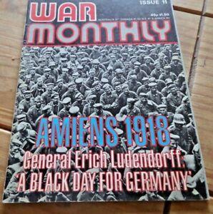War Monthly Magazine No 11 Rare Marshall Cavendish  Collector Item 1974 Germany