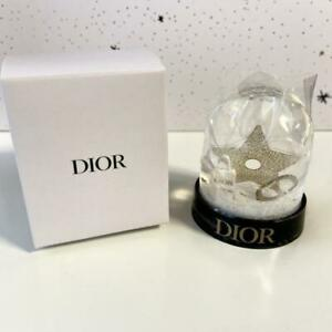 Dior Snow Dome 2020 Holiday Limited Edition Novelty Gift NEW with BOX snow globe