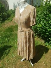 REVISED. St Michael Vintage Early 70'sTea Dress New with original tags Size 14