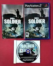 WWII: Soldier - PLAYSTATION 2 - PS2 - USADO - BUEN ESTADO