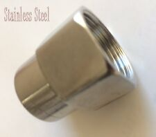 """3/4"""" to 1/2"""" Reducing Coupling Pipe Fitting NPT adapter Female thread N-JED"""