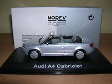 Norev Audi A4 a 4 Cabrio Convertible Luz Plateada, 1:43
