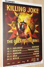 Killing Joke Konzert-/Tourplakat/Tourposter 2016  - verschiedene Städte