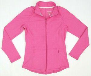 Lilly Pulitzer Luxletic Weekender Jacket Capri Pink Size LARGE MINT!