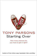 Starting Over, Parsons, Tony, New Book