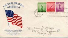 US FDC #899-901 Defense, Grimsland (9089)(14)