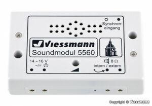 Viessmann 5560 Sound Module Church Bells New