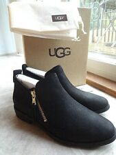 UGG Glee Leather Ankle Bootie, size 7 (NEW) Free Shipping