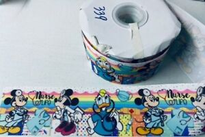 Mickey Mouse and Friends Nurse 3' grosgrain ribbon