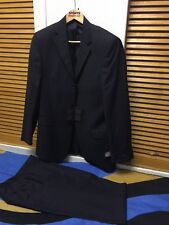 VAN KOLLEM MENS Two Pieces Regular WOOL Blend Suit Size 36/32 Waist New With Tag