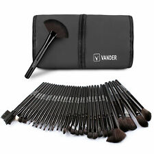 VANDER 32pcs Professional Soft Cosmetic Eyebrow Shadow Makeup Brushes Set Bag