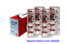 500 count of Maxell cr2032 3V Lithium Coin Battery Expire 2022 US Seller