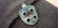 Molto RARO infatti Viking Bronzo Pendente, Anello rotto bellissima patina UK 70 S L39h