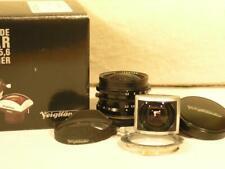 Mint Voigtlander 12mm F5.6 Ultra Wide-Heliar Leica L39 Lens w/Finder & M Adapter