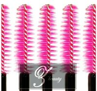 (200~1500pcs) Pink Disposable Mascara Wand Brush Eyelash Extension Makeup