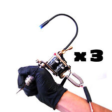 Tattoo Machine Light Flexible White LED Light Adjustable Gun 3 pcs