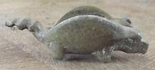 Ancien Vide Poche Bronze Forme Fantaisie Cochon évidé Vintage 1930