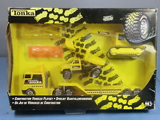 "TONKA  TOYS  MODEL No.XXX  ""CONSTRUCTION VEHICLES PLAYSET""  VN MIB"