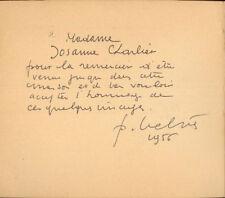 HISTOIRE DU BALAI FLEURI/COLMONT/BELVÈS/1956/Signé