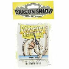 Dragon Shield Mini Japanese Matte White 50ct Size Sleeves yugioh vanguard