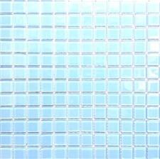 1 SQ M Blue Glass Bathroom Kitchen Bathroom Shower Mosaic Wall Tiles MT0009