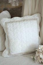 Clayre & Eef Zierkissen Dekokissen 40x40 Patchworkkissen Quilt Shabby