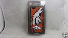 New Denver Broncos Rugged Hard Case Cover for iPhone 6 NFL