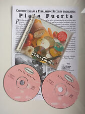 "PRODIGY - PIXIES - THROWING MUSES ""PLATO FUERTE"" RARE SPANISH 2CD + PROMO SHEET"