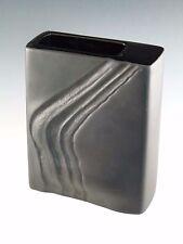 ROSENTHAL Porcelain / Pottery - Studio Linie - Martin Freyer Black Vase