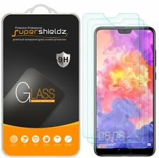 [3-Pack] Supershieldz For Huawei P20 Pro Tempered Glass Screen Protector, Anti-S