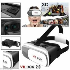 VR BOX OCCHIALI REALTA' VIRTUALE 3D PER IPHONE SAMSUNG GIOCHI VIDEO FILM 360° DI