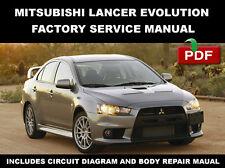 mitsubishi lancer workshop manual ebay rh ebay ie Mitsubishi Evolution 9 Mitsubishi Lancer Evolution VII 2001