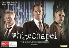 WHITECHAPEL -COMPLETE COLLECTION -SERIES 1-4 (DVD, 6-Disc Set) SEALED LOOSE DISC