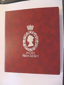 Album 1.1 - Commemorating the Silver Jubilee of QE II - SEE DETAILS FOR ALL INFO