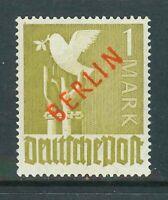 Berlin Rotaufdruck - Mi-Nr. 33 ** postfrisch geprüft Schlegel BPP - Mi. 550,-