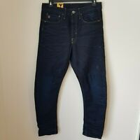 NEW G-STAR RAW Men 32 x 34 'TYPE C 3D LOOSE TAPERED' DK Aged Jeans Button Fly