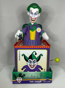 SDCC EXCLUSIVE BATMAN The Joker Jack-in-the-Box ENTERTAINMENT EARTH New!