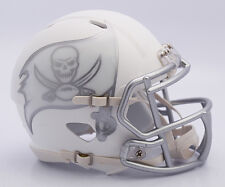 NFL American Football TAMPA BAY BUCCANEERS - ICE ALTERNATE Riddell MINI HELMET