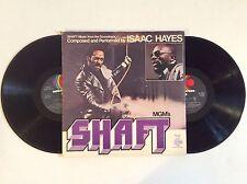 ISAAC HAYES ◈ SHAFT ◈ NM '71 vinyl 2 LPs Enterprise blaxploitation soundtrack