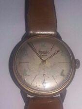 Ancienne Montre Mécanique EXACTA Plaqué Or 15 Rubis Antimagnetic Bijoux Vintage