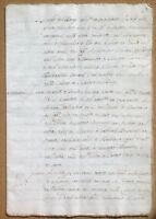 Antico documento manoscritto XVI / XVII secolo - Lucca - Ospedale S. Luca
